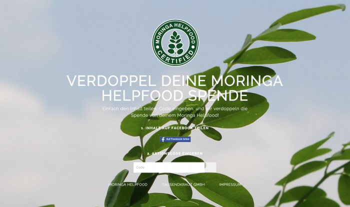 Moringa Helpfood Donation Web App